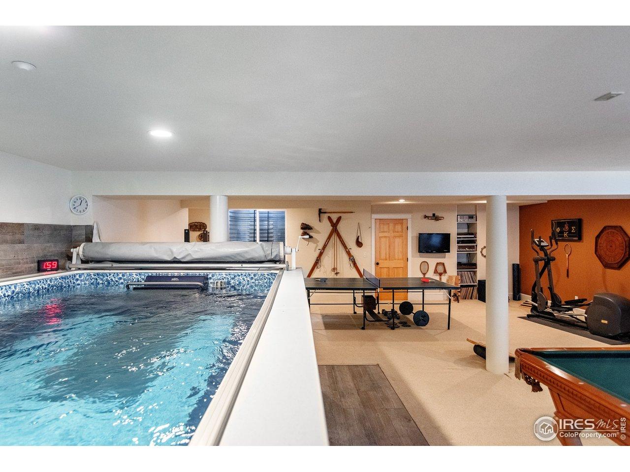 Lap Pool/Therapy Pool