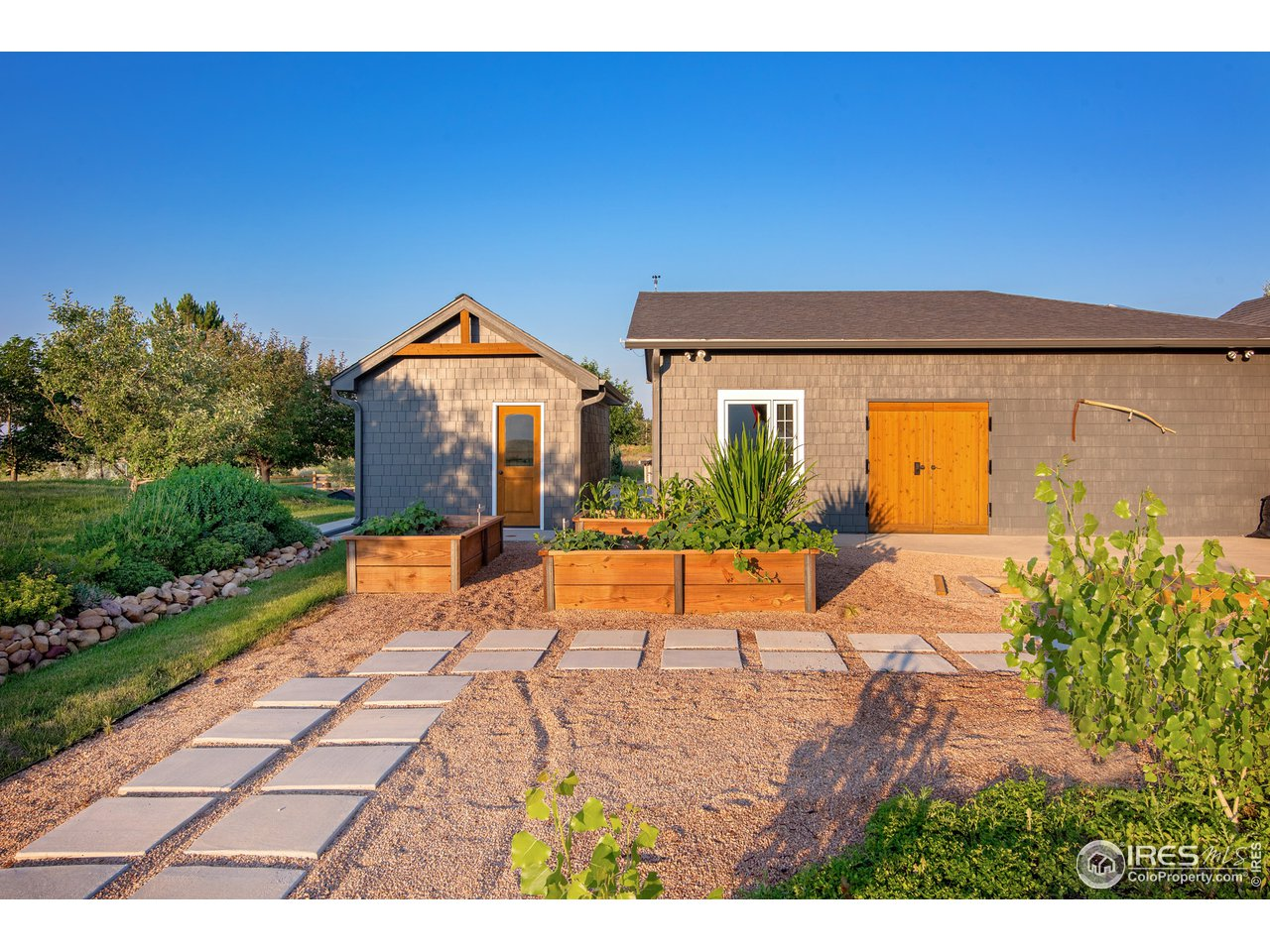 Raised Garden beds and workshop