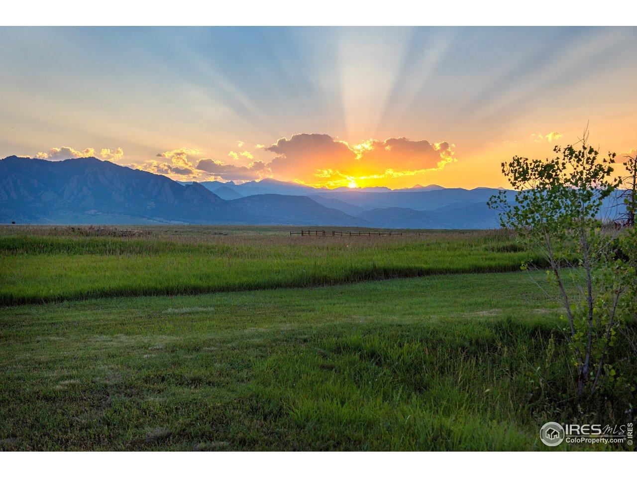 Rocky Mountain Sunsets