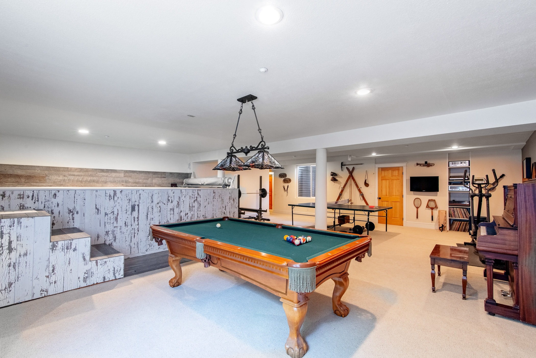 Tons of room for recreation