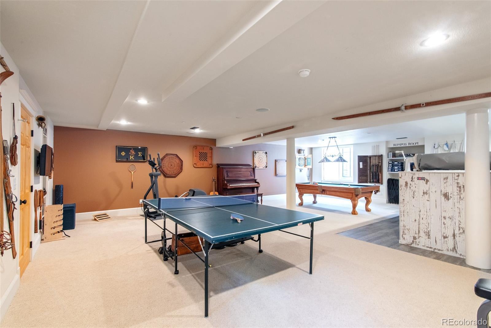Huge Rec Room Flex Space