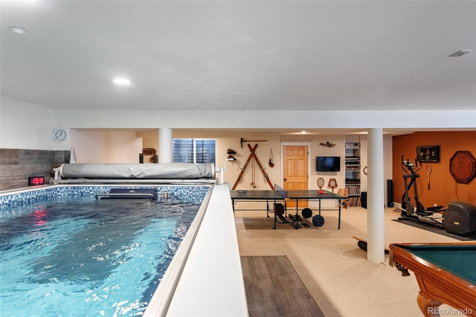 Lap/Therapy Pool