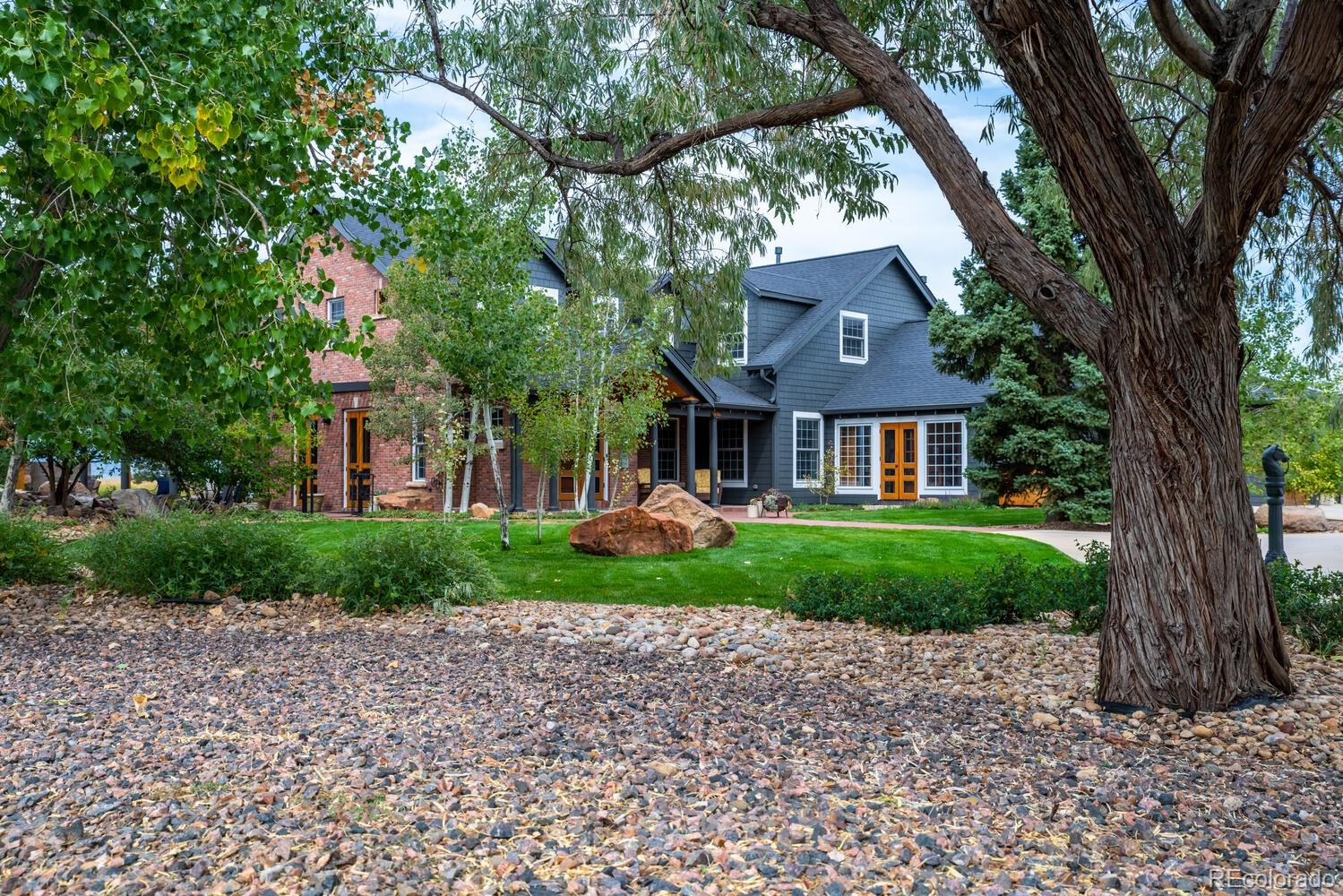 Mature Landscaping throughout the property