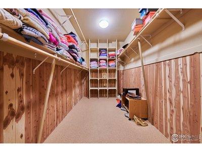 Lower Level Cedar Closet