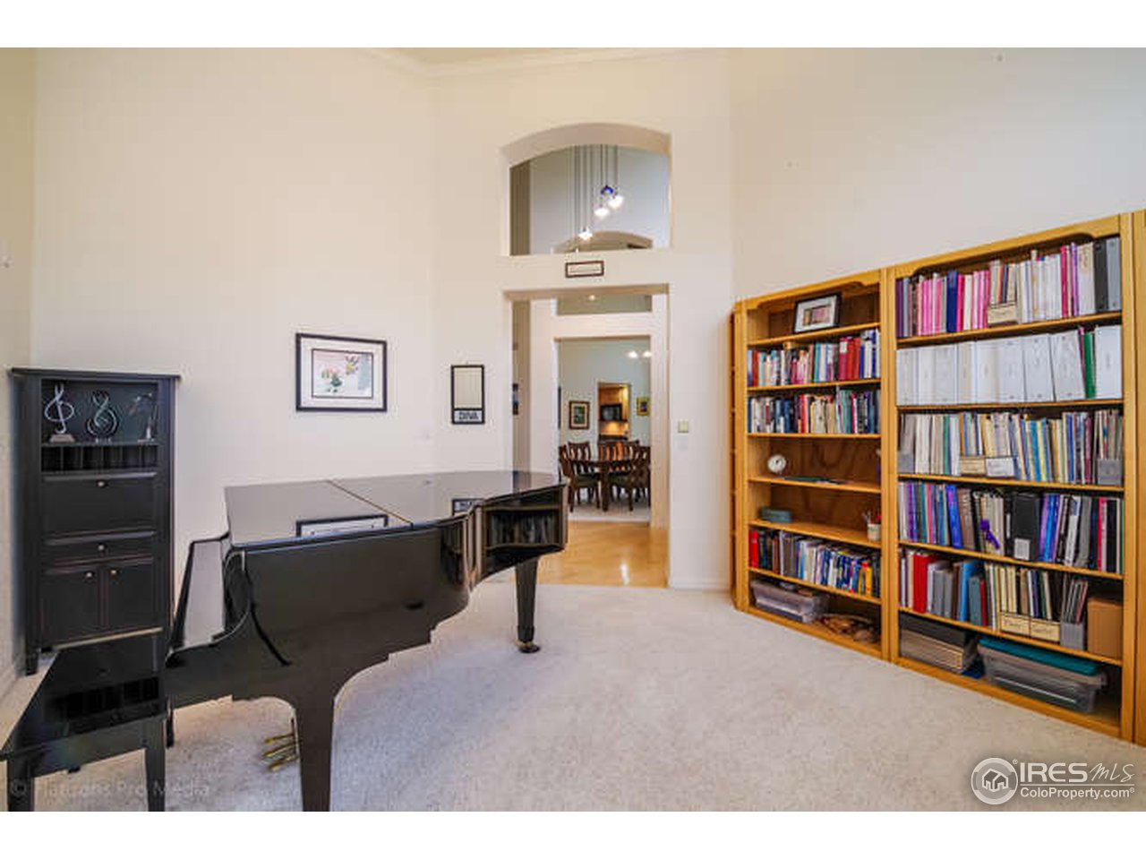 Great Study or Music Room