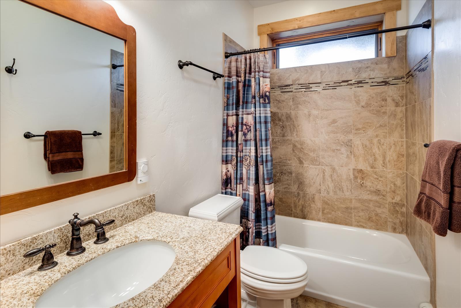 Guest bathroom downstairs