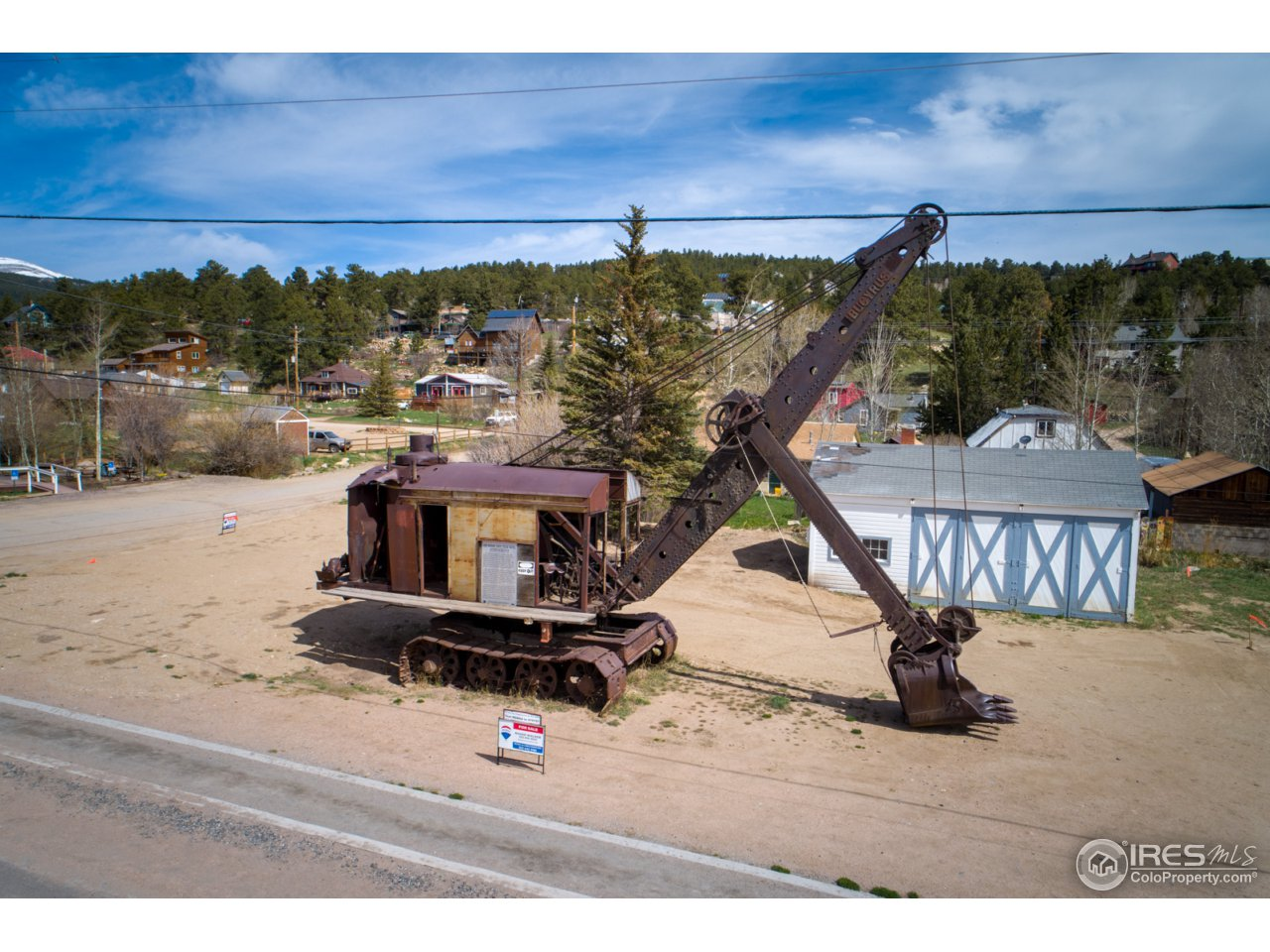 Historic steam shovel not included