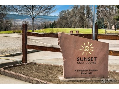 Sunset golf course nearby