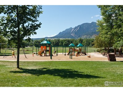Playground, fields and pavilliion