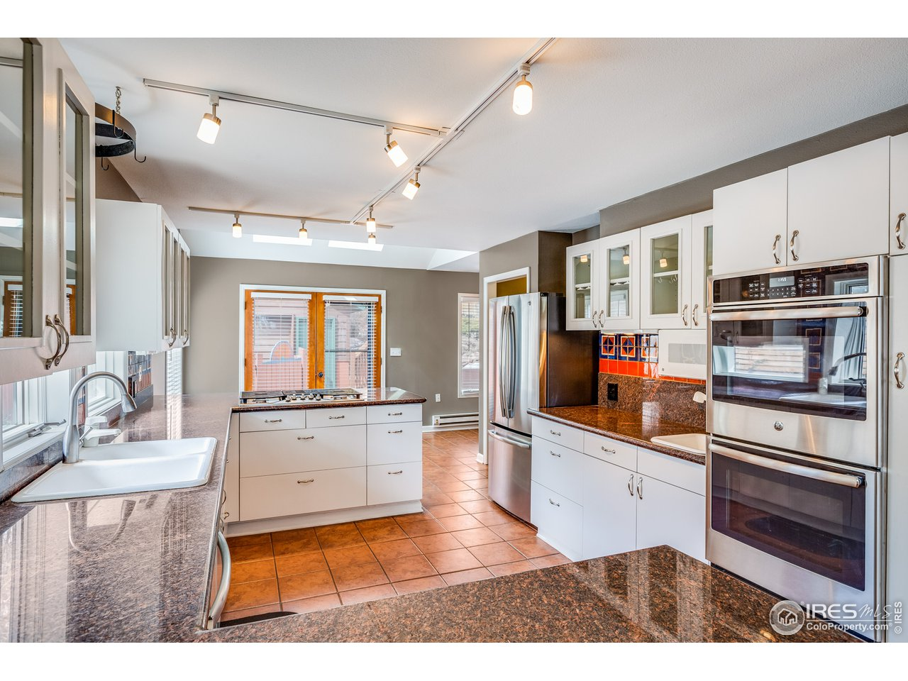 Newer stainless steel appliances