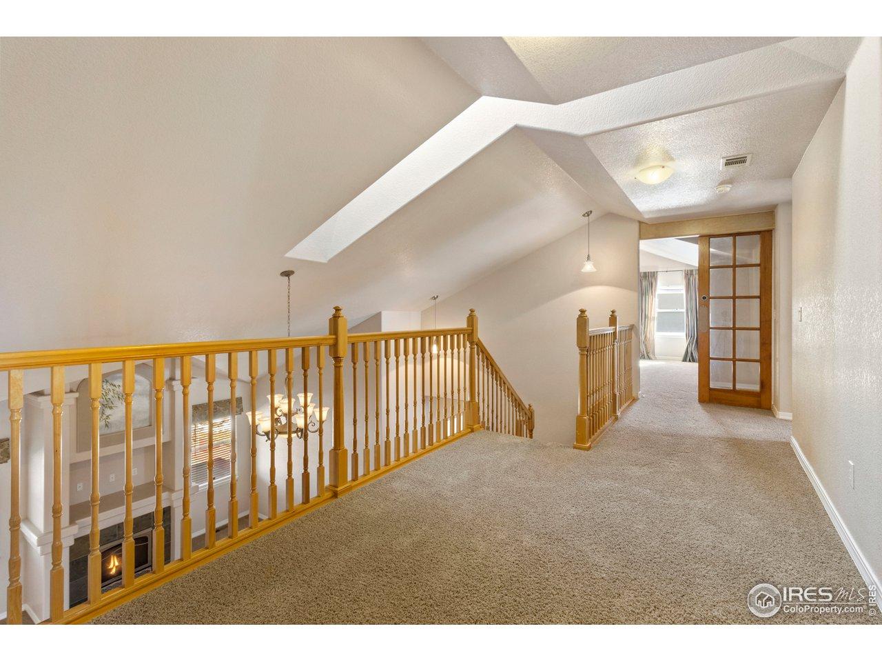 Loft and skylight