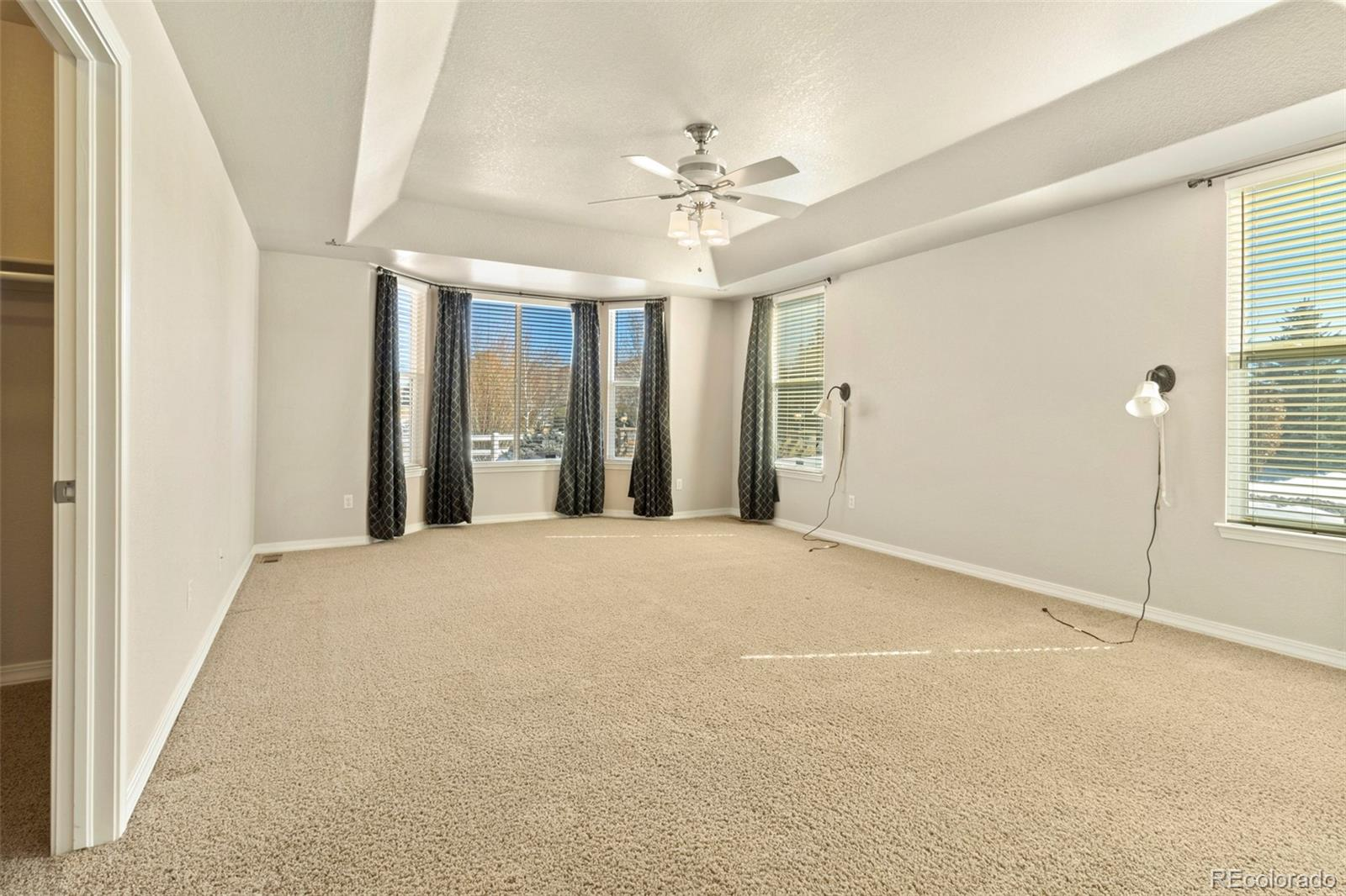 Large Master bedroom on main floor
