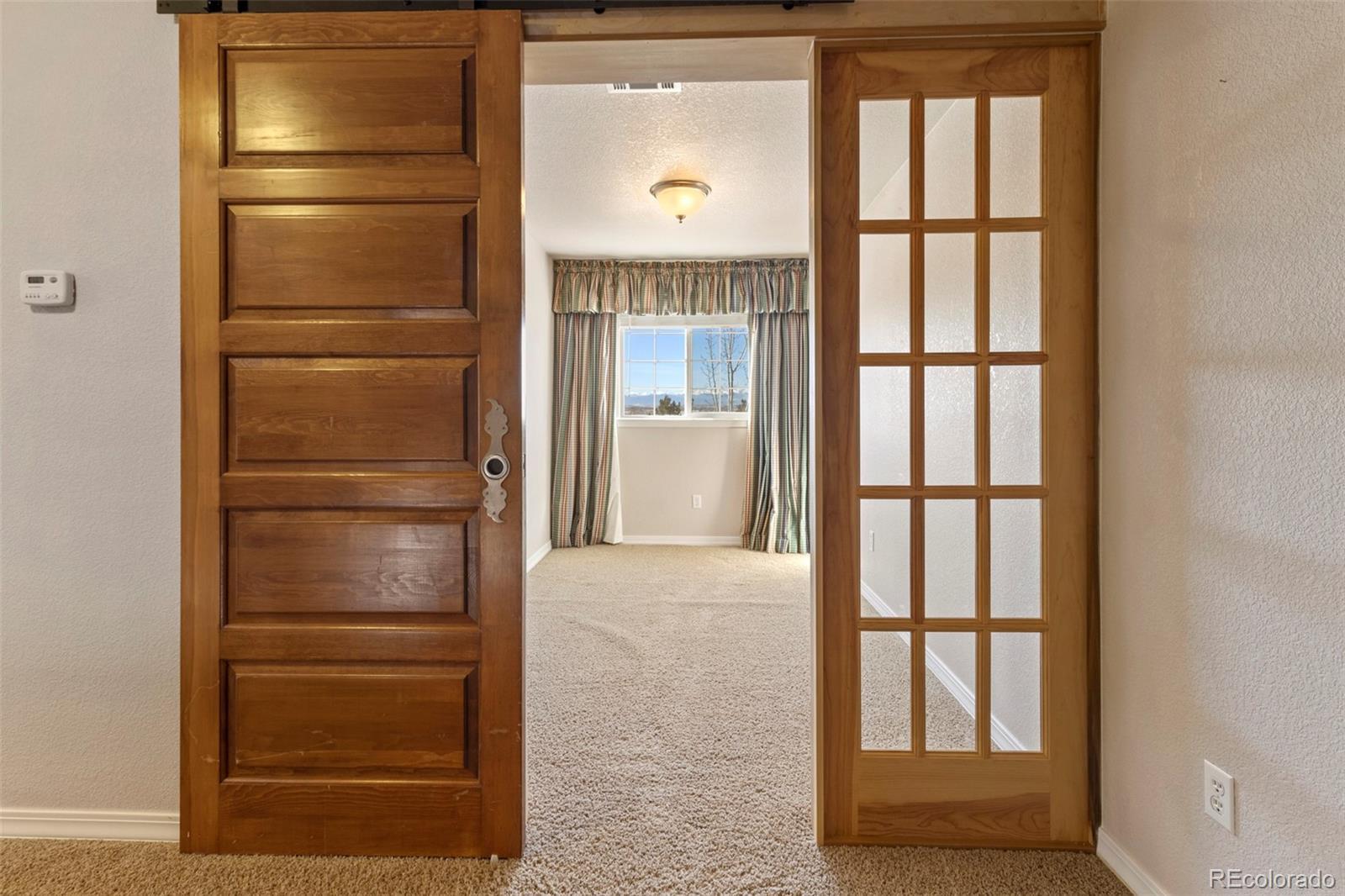 Historic reclaimed barn doors