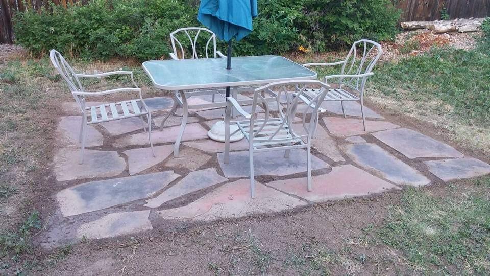 Backyard Dinning Area