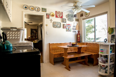Kitchen with Large Eating Area