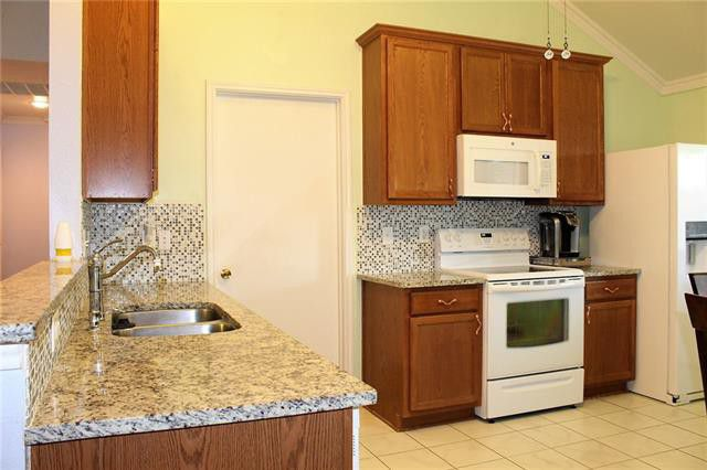 Garnite Counters & Decorative Back Splash