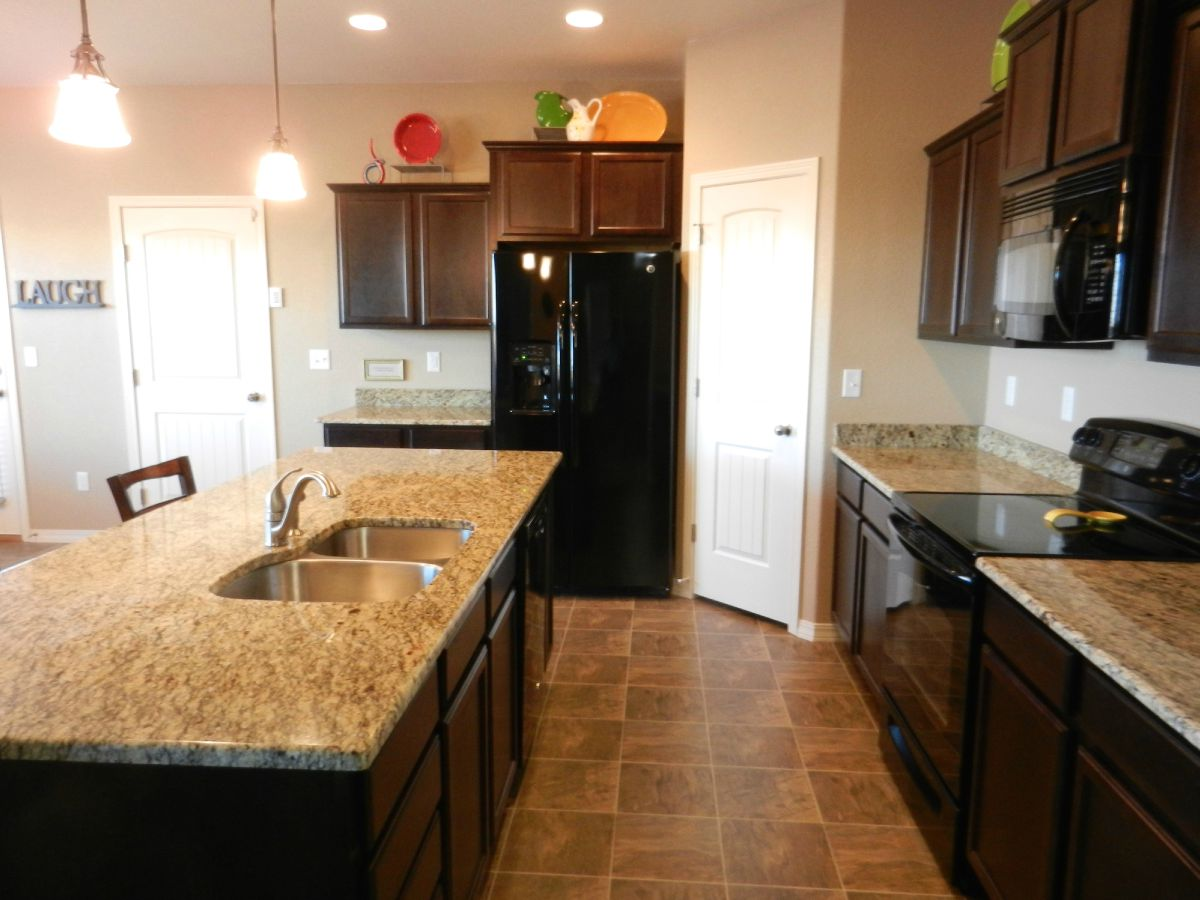 Beautiful kitchen with granite