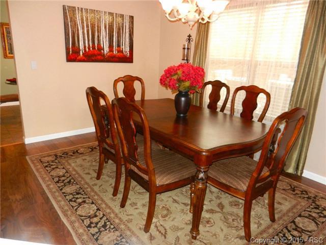 Separate elegant formal dining room