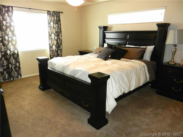Large Master Bedroom with attached bath