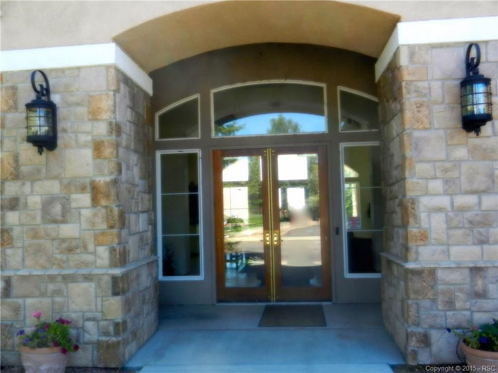 Entry to Clubhouse in front of complex
