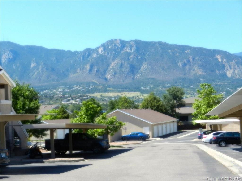 Mountain Views upon immediate entry of complex