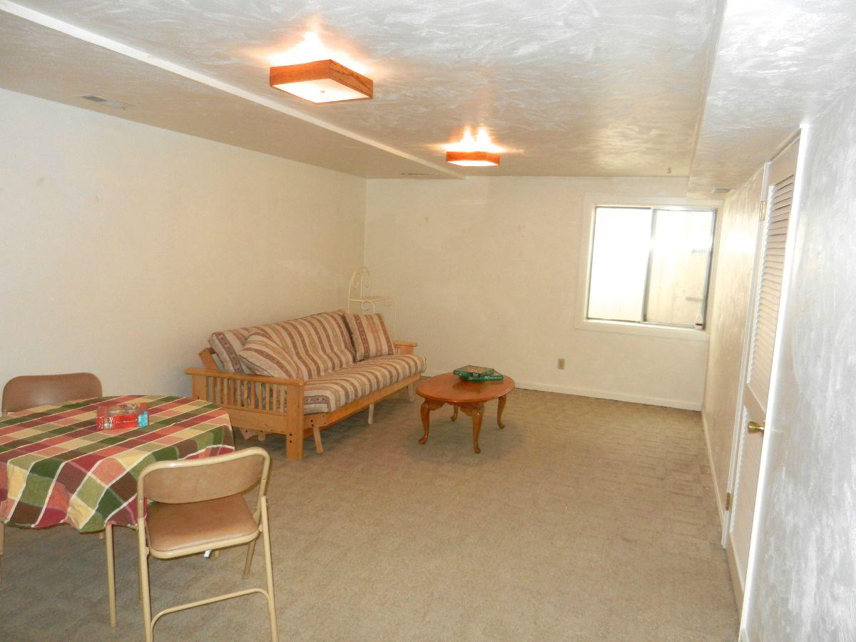Basement Game Room/Family Room