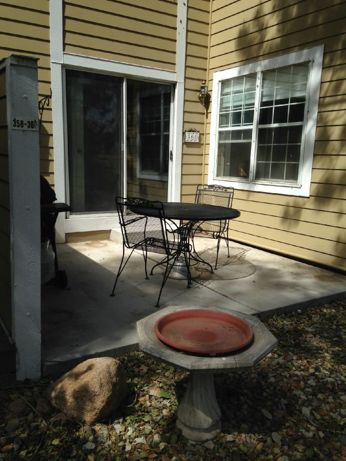 Patio Area-Great for Grilling