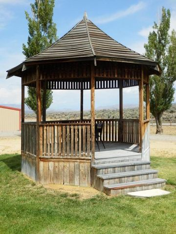 A gazebo to hand out in.