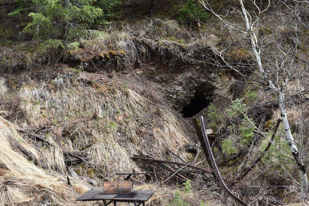 Historic Mining on Property