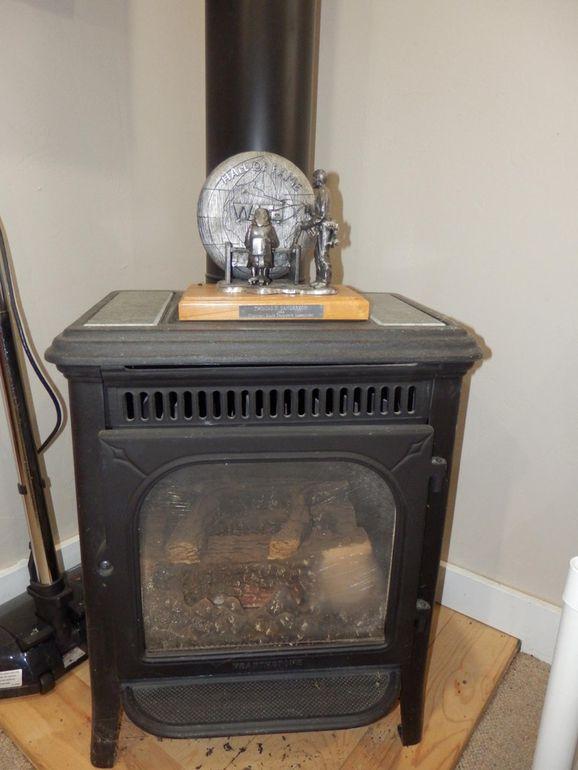 Gas Heater.