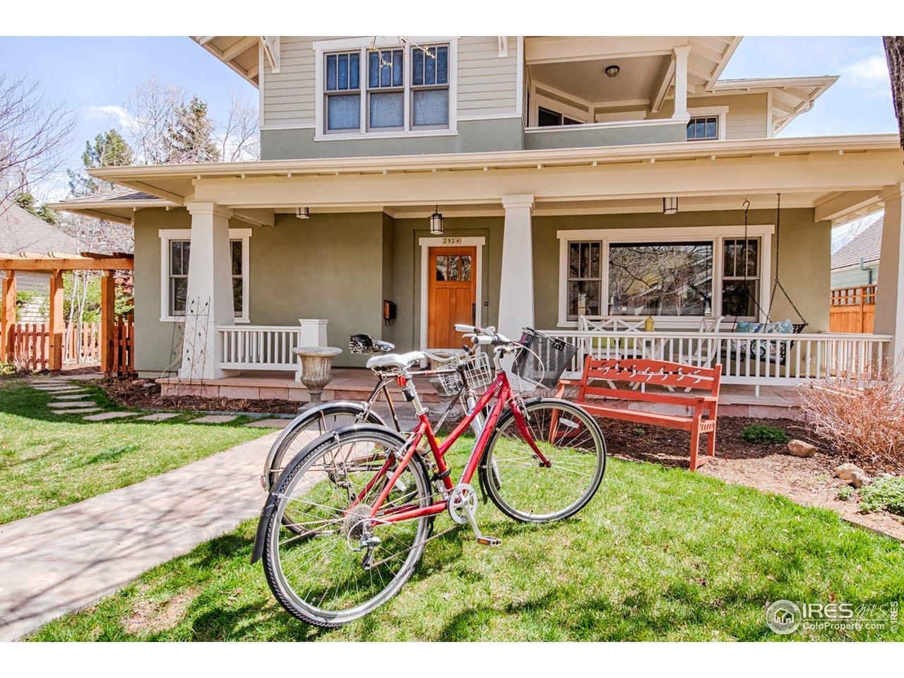 A Boulder 'lifestyle' home!
