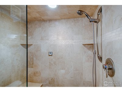 3/4 bathroom - basement