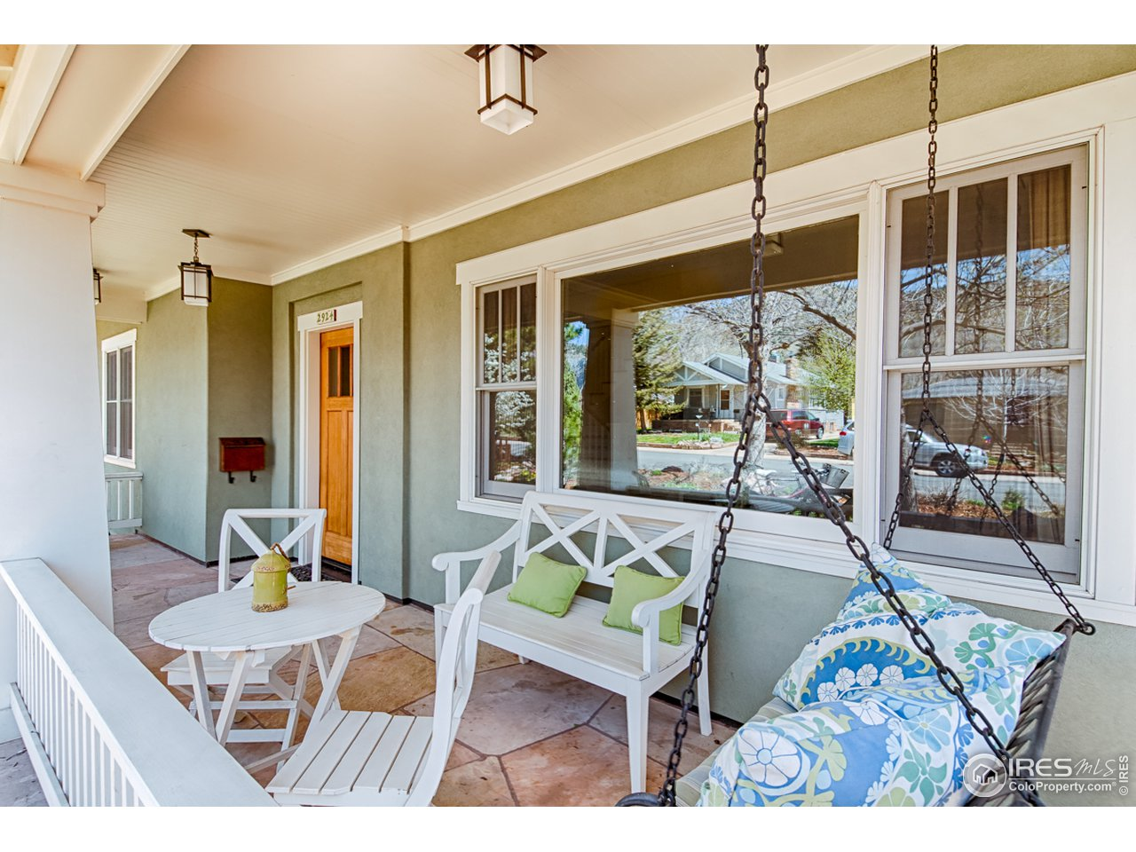 Hang out on the pleasant front porch