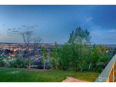 Overlooking the lights of Boulder