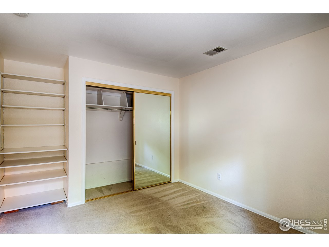 2nd Bedroom Closet & Shelving