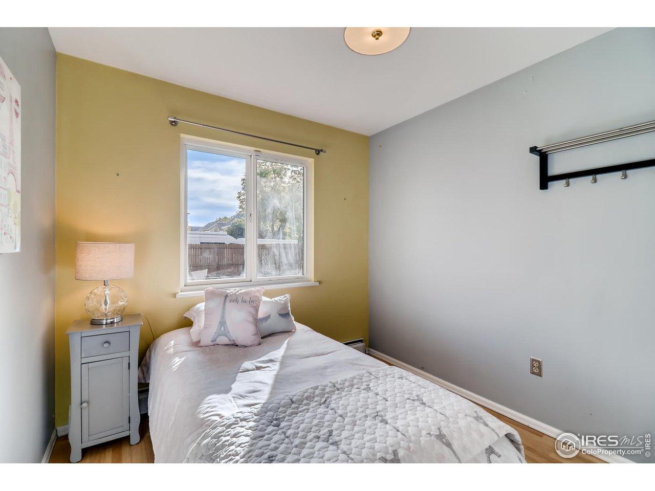 Bedroom #3 - northeast corner