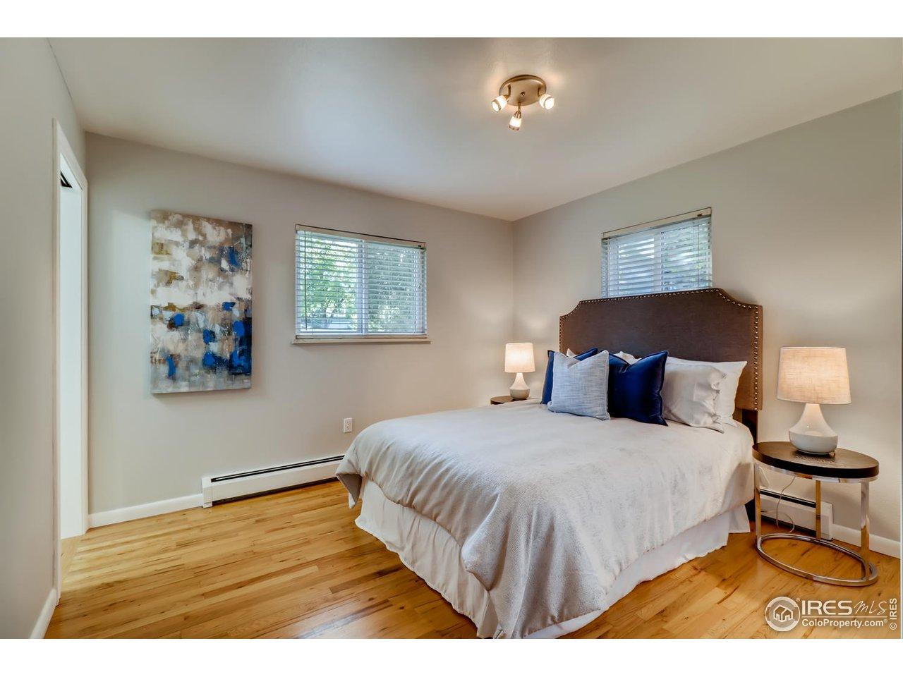 Master bedroom - southeast corner