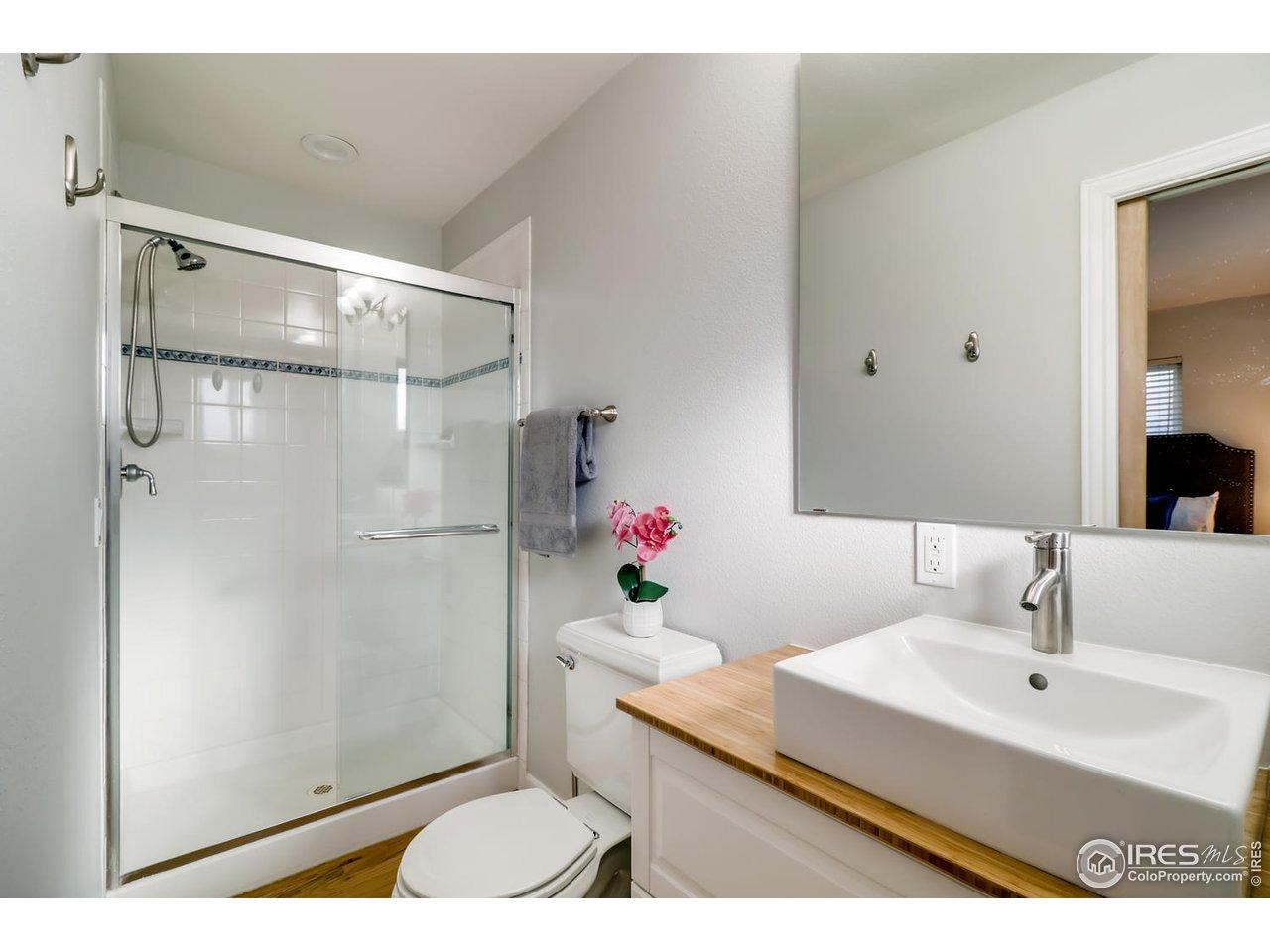Master bathroom - new vanity