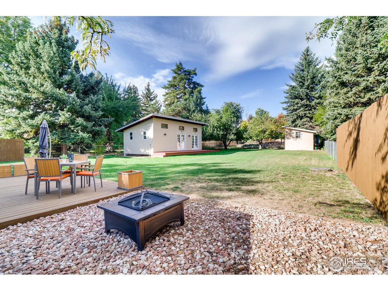 Backyard oasis - 12,981 sq ft lot