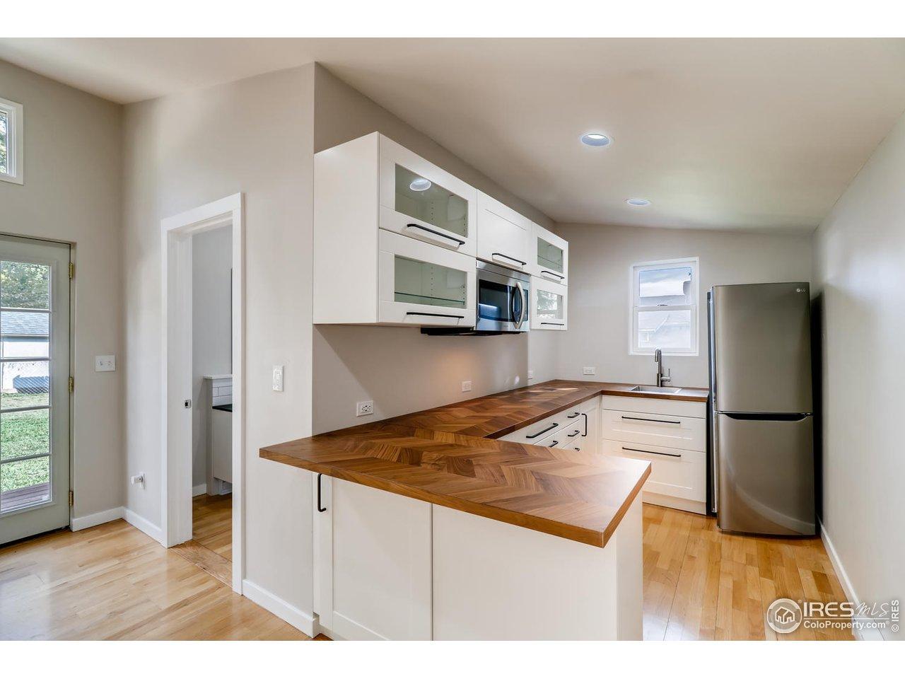Backyard studio newly updated kitchenette