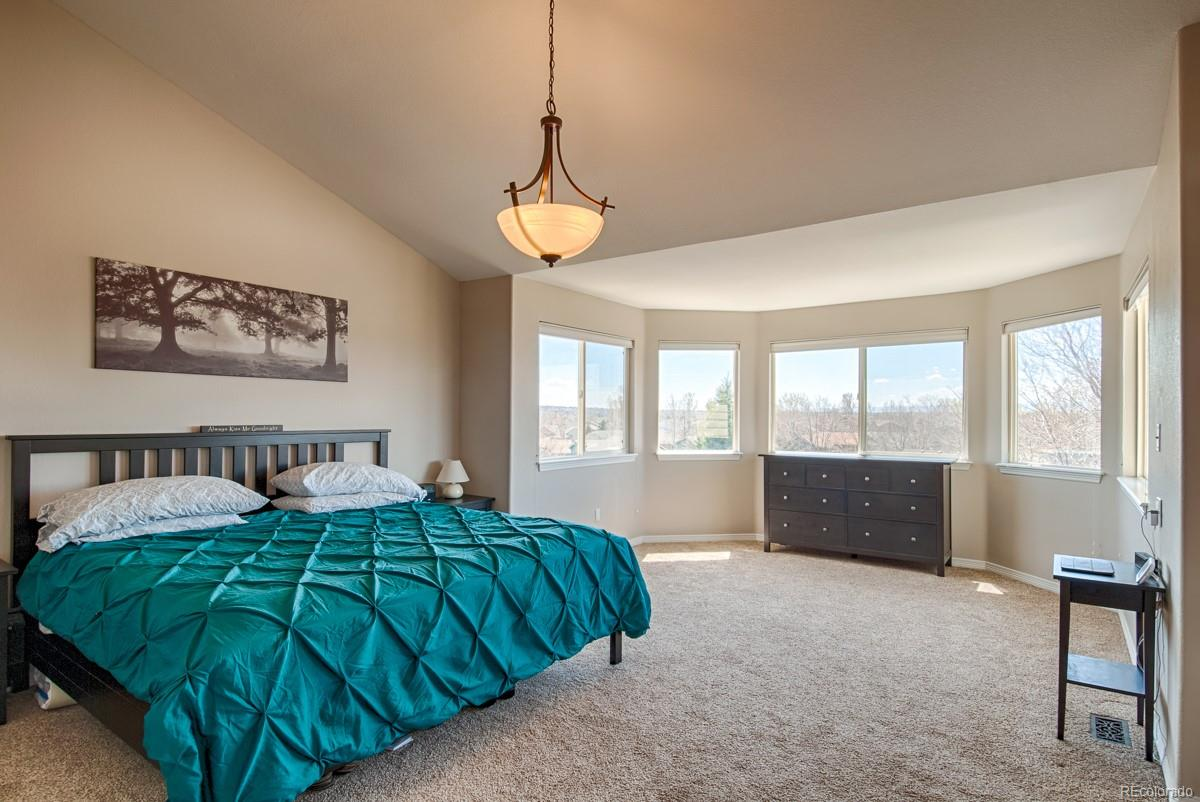 Large Master Bedroom with Sitting Area
