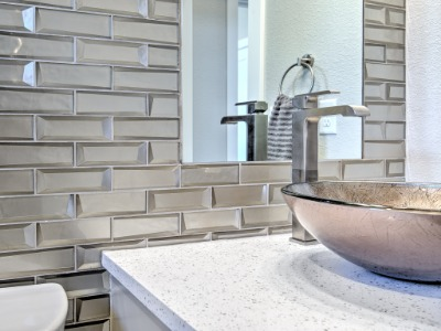 GORGEOUS TILE AND FIXTURES!