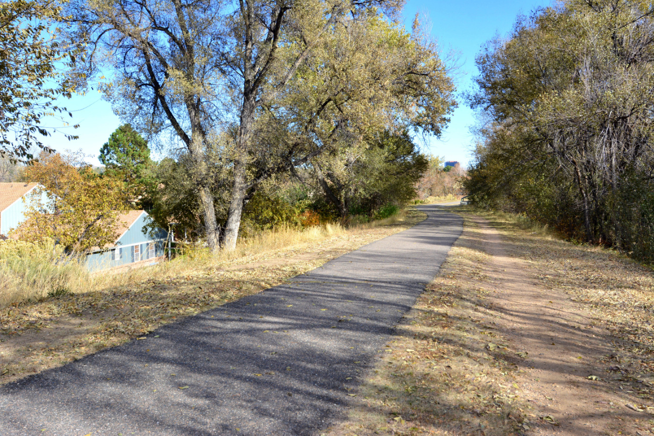 The Highline Canal Trail just outside your door!