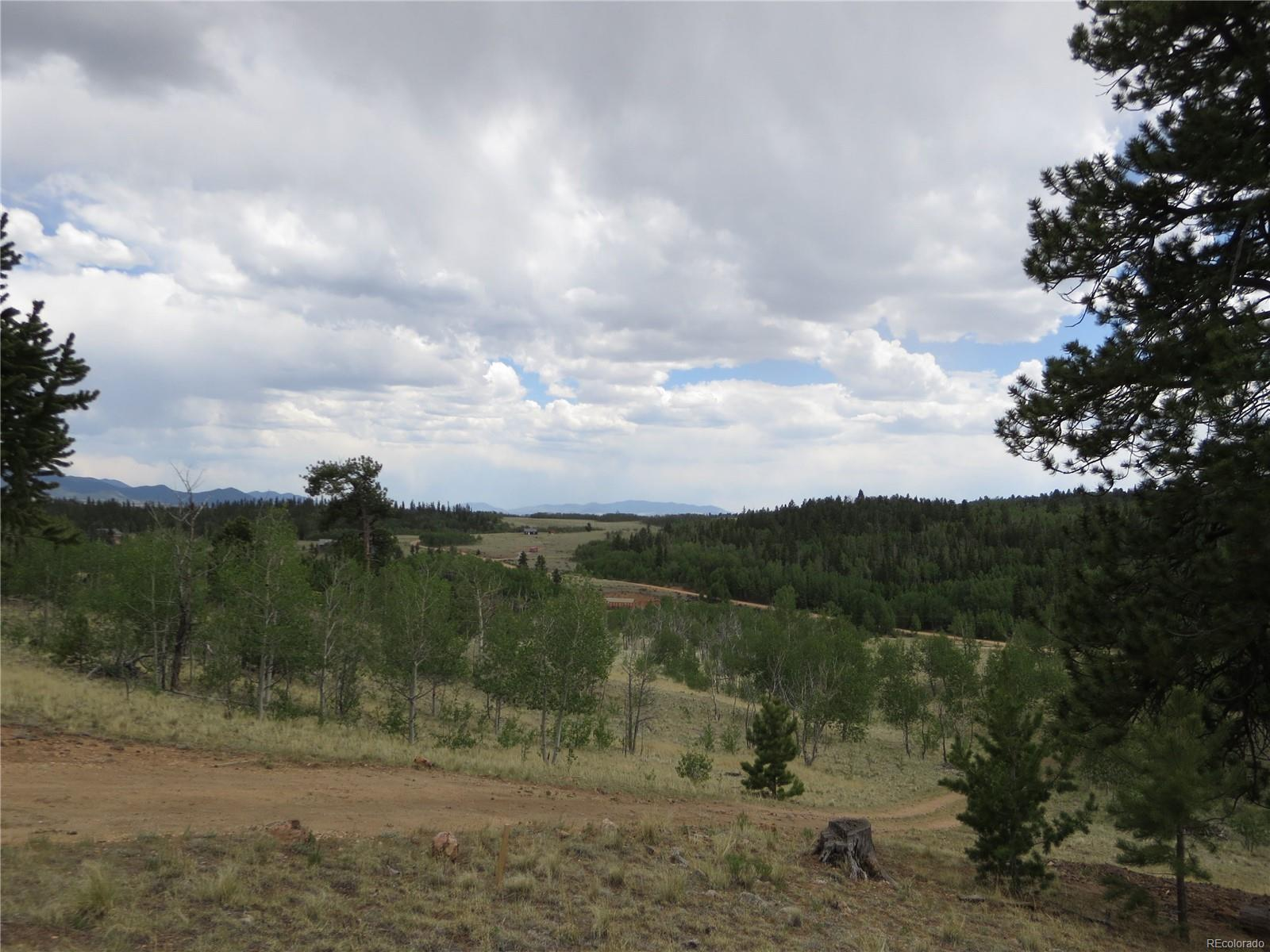 Panoramic mountain views in Elkhart Ranch