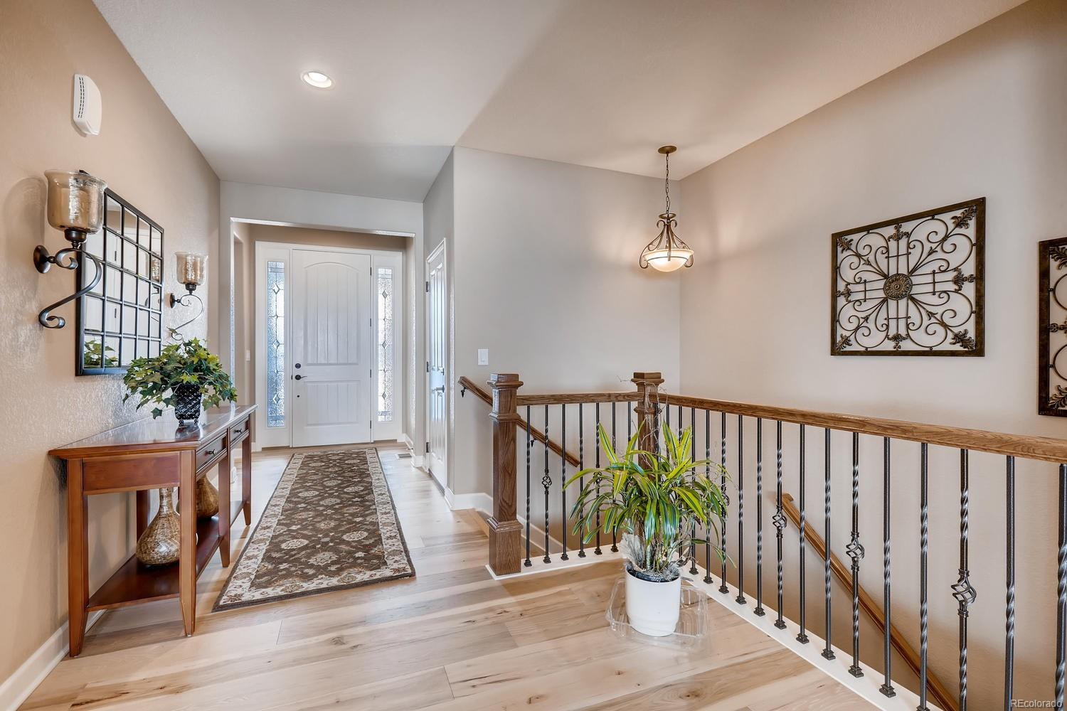 Bright and large foyer