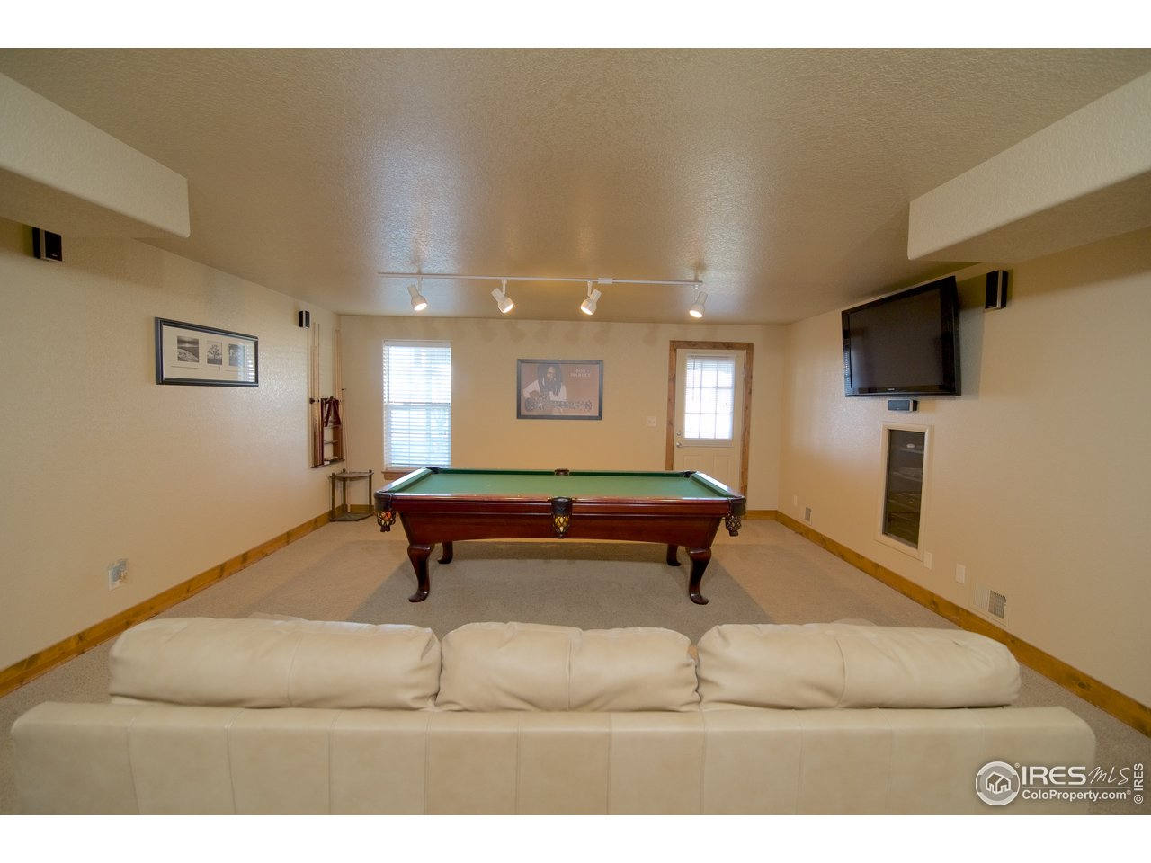 Rec. room In Walk-out Basement