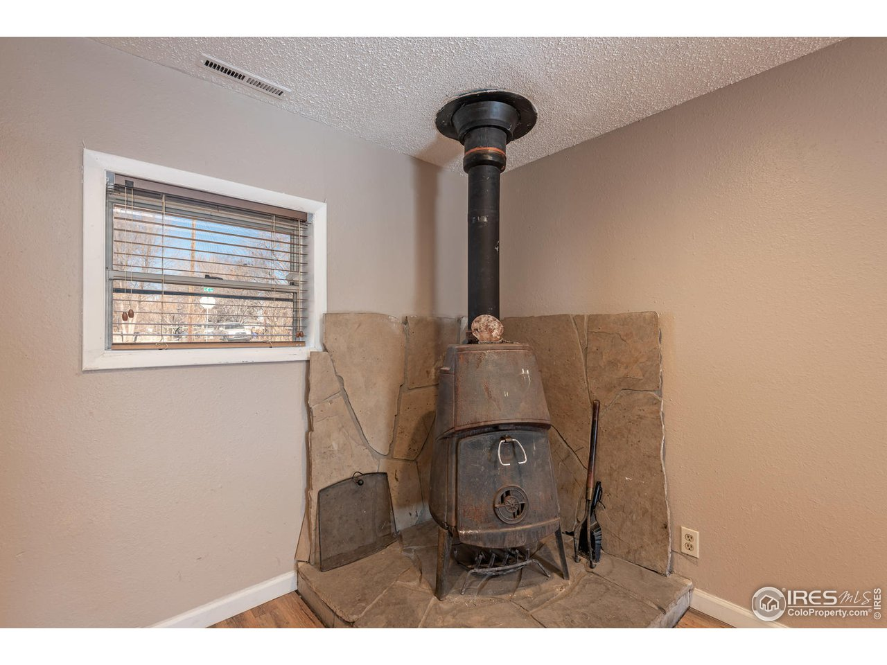 Wood stove for those chilly Colorado winter days