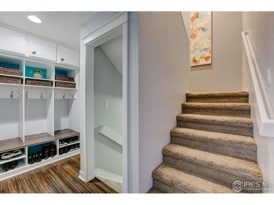Conveniently Located Stairway