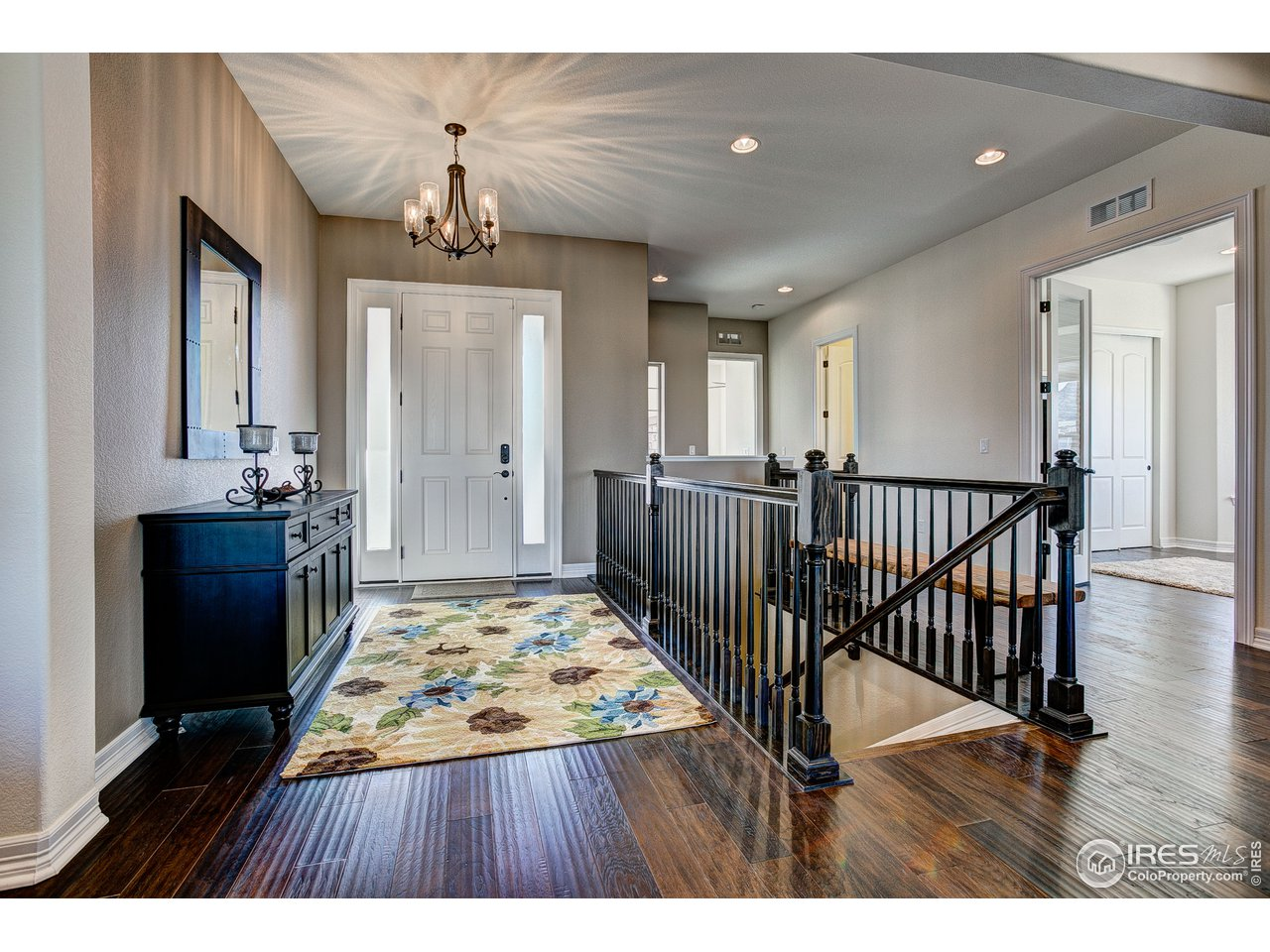 Dramatic Entry w/8' Doors Throughout Main Level