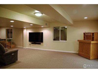 Spacious Finished Basement
